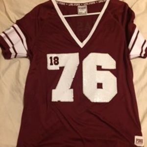 Women's Texas A&M Tee with sequins